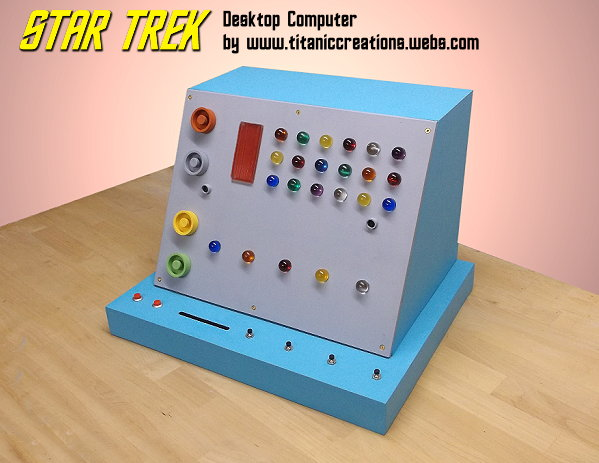 Star Trek Desktop Computer