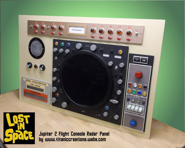 Jupiter 2 Flight Radar Panel