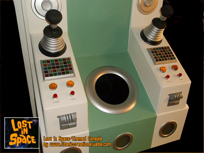 JUPITER 2 SPACESHIP CONSOLE