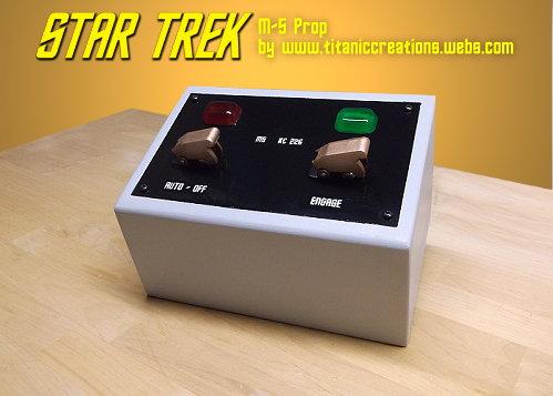 Star Trek M-5 Computer Prop