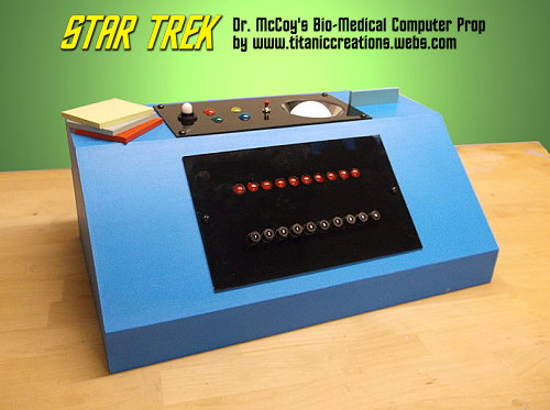 Star Trek Dr. McCoy's Bio-Medical Computer