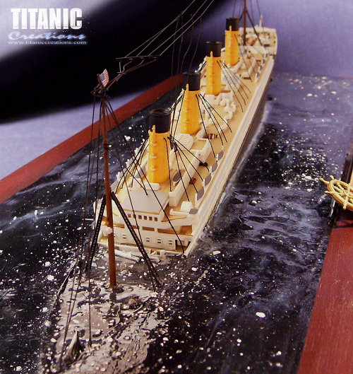 Images For > Titanic Sinking Model