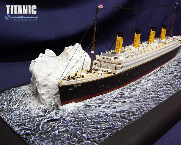 Titanic Wreck Model And Large Affordable Normal Kit