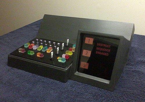 Mr. Spock's Bridge Computer (Self-Destruct Version)